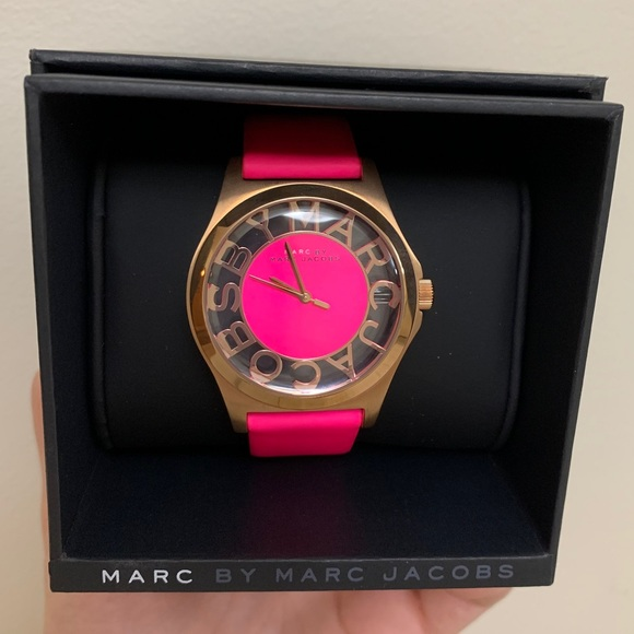 Marc by Marc Jacobs Pink Watch